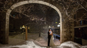 Winter Weddings - Courtyard Restaurant
